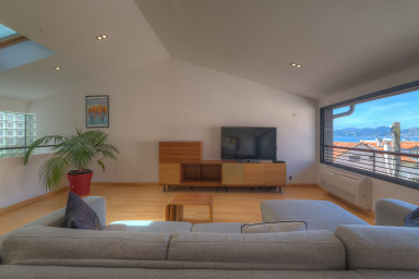 IMMOGROOM - 100m² Duplex - Sea view - A/C - Le SUQUET - CONGRESS/BEACHES