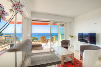 IMMOGROOM -  Panoramic Sea view - Huge Terrace 3 min from beach / CONGRESS