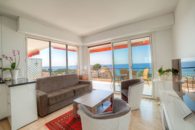 IMMOGROOM- 4**** Panoramic Sea view- Huge Terrace 3 min from beach/CONGRESS