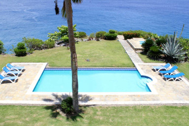Oceanfront  Sosua Center of Town with a walk to everything 2 Bed 2 Bathroom