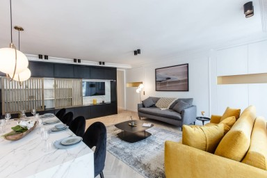 90sqm 2-BDR/2BR Saint Honoré - Serviced Apartments