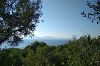 On of its kind buildable Land in Sivota Area with Sea View (Palm land I)