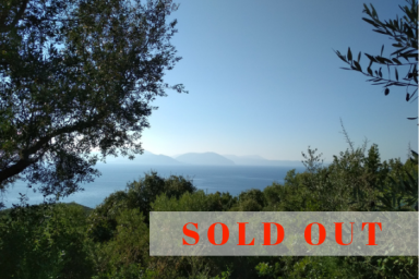SOLD - Buildable Land in Sivota Area with Sea View (Palm land I)