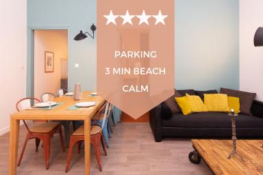 ❤ RARE ❤ Grand 3P dans ancien palais cannois ! Résidence standing & parking
