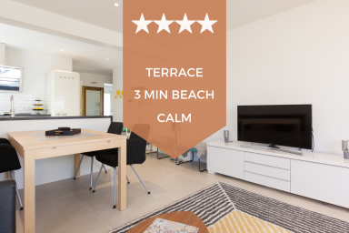 KIKILOUE ❤ 3 min beaches ✌ Terrace & parking