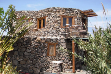 The Eco Tower is a stunning converted windmill in Finca De Arrieta