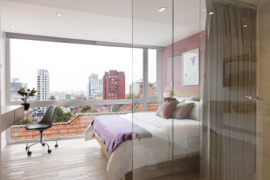 Urban Heights 306 - Trendy Studios in Exciting Chapinero Alto