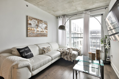 Bright and comfortable 1 bedroom apartment in Griffintown