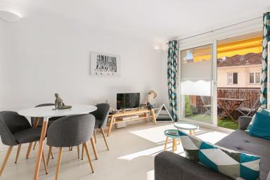 Appartement moderne avec balcon proche Croisette à Cannes