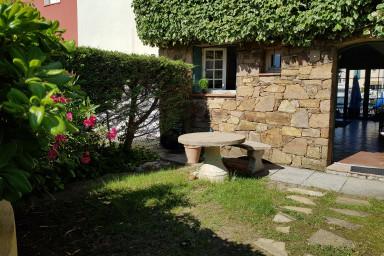 Maison en pierres élargie avec WIFI, 2 terrasses et amarrage 16m