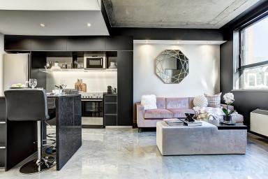 VIP studio for rent in Guy Concordia district