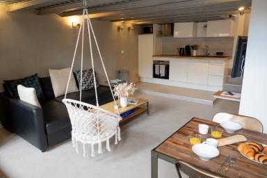 Studio esprit loft avec terrasse