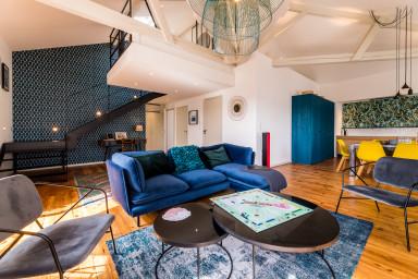Appartement Design en Duplex avec Aperçu mer Biarritz Centre
