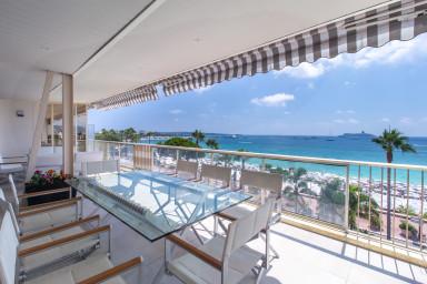 Penthouse exceptionnel au centre de Cannes, vue mer panoramique