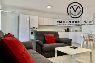 Bel appartement dans Résidence neuve-terrasse -stationnement aisé #AV