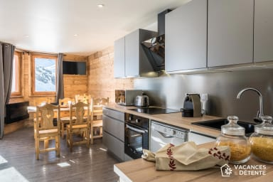 (C6) Amazing SKI-IN SKI-OUT, Very Charming Apartment with Fantastic Views