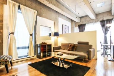 2 bedroom executive suite for rent at Lofts saint- Alexandre