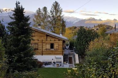 Schönes Haus in den Bergen