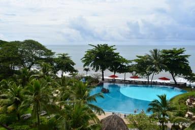 Pearly Duplex - bord de plage, piscine et vue dans résidence hotellière