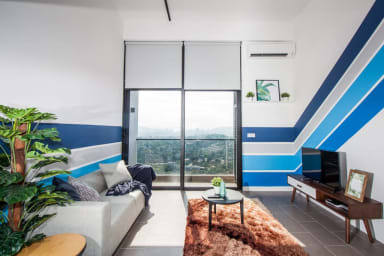 EST#6 Stunning 1BR loft directly linked to Bangsar LRT, KL Sentral