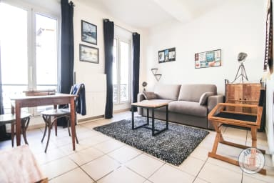 Charming renovated studio with AC at 2 steps from the Rue d'Antibes