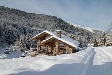 Chalet unique skis aux pieds - Chalet ski-in ski-out !!