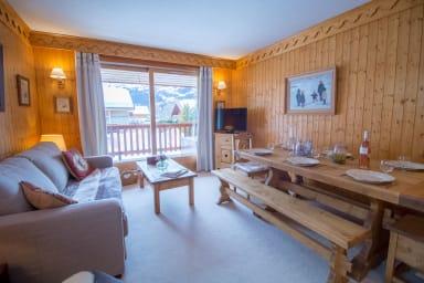 Beau 3 chambres Charmant et Confort à Meribel Village !