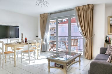 IMMOGROOM - 3min from beach - A∕C - 10min from Palais - CONGRESS/BEACHES