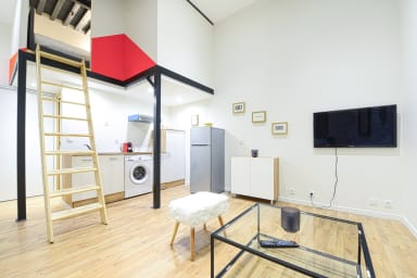 Appartement style loft industriel