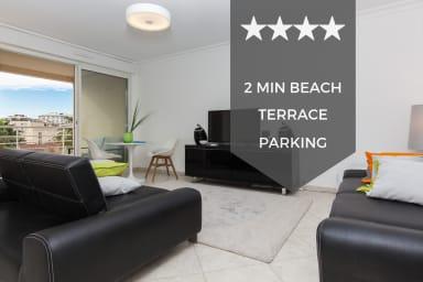 ❤ Havre de paix ❤ Avec terrasse, à 2 min des plages - Cannes Palm beach