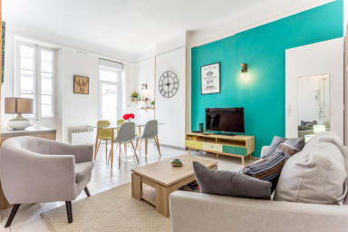 Appartement de design avec terrasse