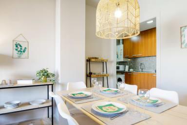 Luminoso apartamento de estilo escandinavo en Poblenou