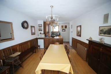 Salle à manger cuisine partagée