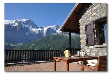 Chalet de montagne plein de charme, face à La Meije - Frederic Sionnet