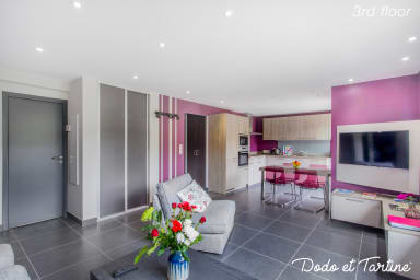 Snug 2 bedroom with balcony - Dodo et Tartine