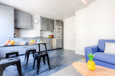 Designer Apartment in Batignolles