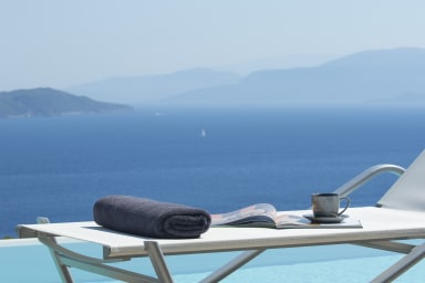 -10%:Brand New Villa Asterias:Feel the Greek Summer,enjoy the view & relax!