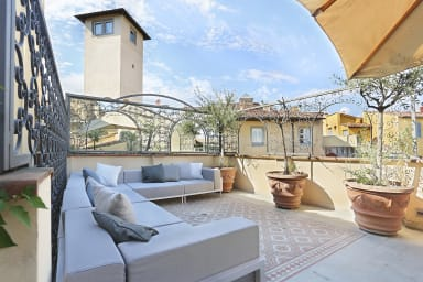 ⭐️⭐️⭐️⭐️⭐️LUXURY suite with amazing Terrace in Florence-hosted by Sweetstay