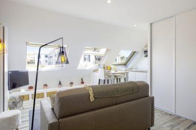 Beau studio lumineux au coeur de Biarritz, à deux pas de la plage - Welkeys