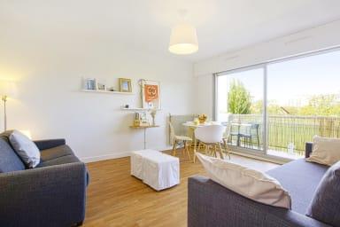 Studio calme avec balcon proche des plages et de Biarritz centre - Welkeys