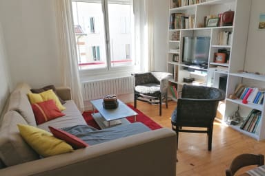Appartement d'artiste dans quartier résidentiel❤️Tram à 4min #E6