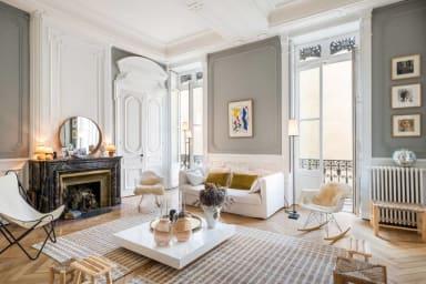 L'Elégante - Splendide appartement haussmannien