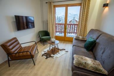 Appartement renové 4 pers Méribel Plateau