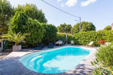 Renovated family house 10 people Lège Cap Ferret heated pool