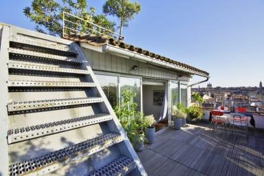 Superbe appartement avec rooftop et vue imprenable sur Bordeaux - Welkeys