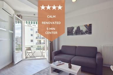 👍Remodeled one-bedroom apartment, only 15 minutes on foot from the beaches