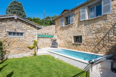 La Mignonne - Village house with swimming pool