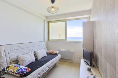 Studio moderne avec vue sur mer à Biarritz - Welkeys