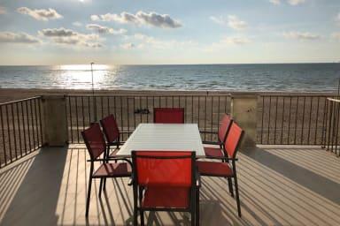 ⛵ Terrasse EXCEPTIONNELLE avec Vue Mer Panoramique |100m² - 8pers.