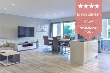 KIKILOUE ✌️ Cannes 12 min à pied du palais ✌️ 3P avec terrasse et piscine !